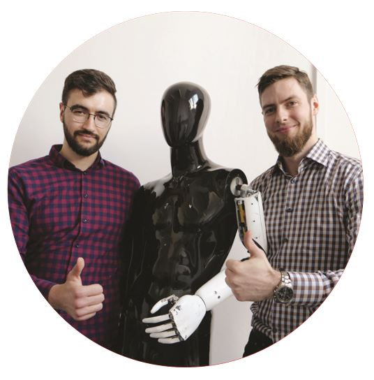 WOJCIECH ROKOSZ, PROJECT COORDINATOR AND MATEUSZ STACHOWIAK, DESIGNER AND SOFTWARE DEVELOPER